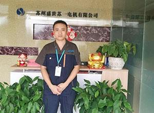 电气工程师 月薪7500元 杨大勇